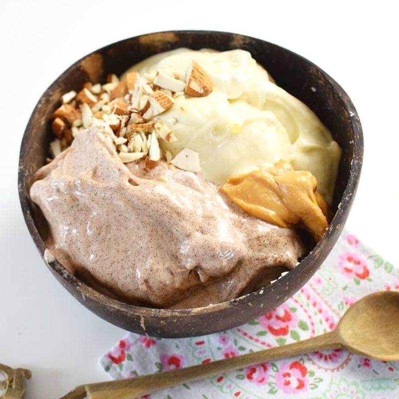 Aus reifen foodsharing Bananen kannst du lekceres Eis selber herstellen.