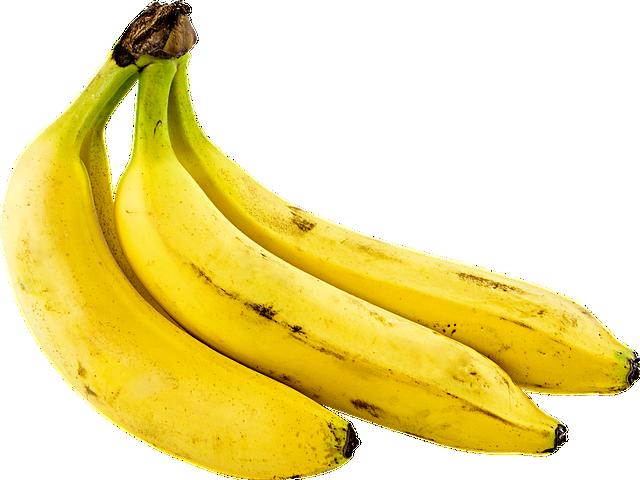 Mache aus reifen Bananen leckeres Bananeneis.